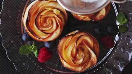 Cinnamon Apple Roses Recipe