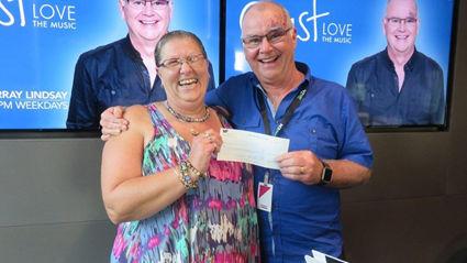 Murray Meets Coast Stars Winner Patricia Ellis