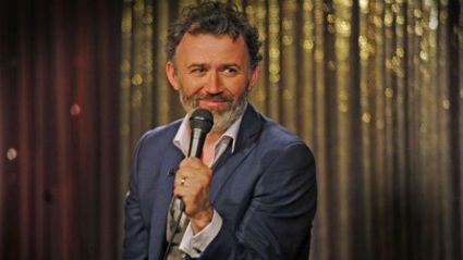 Irish Comedian Tommy Tiernan Catches Up With BK