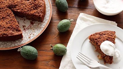Feijoa And Ginger Cake Recipe
