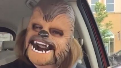 Viral Chewbacca mask video sets new  Face Book record for most views