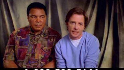 Michael J Fox and Muhammad Ali: Parkinsons Disease PSA