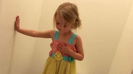 Mother's 'Funny' Photo Of Daughter Isn't That Amusing Once The Heartbreaking Truth Is Revealed