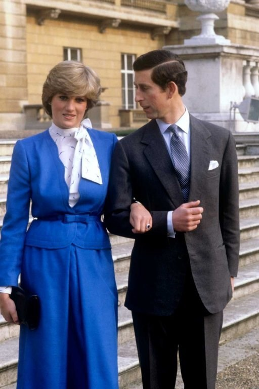 THEN: (1981) Prince Charles and Lady Diana Spencer announce their Engagement.