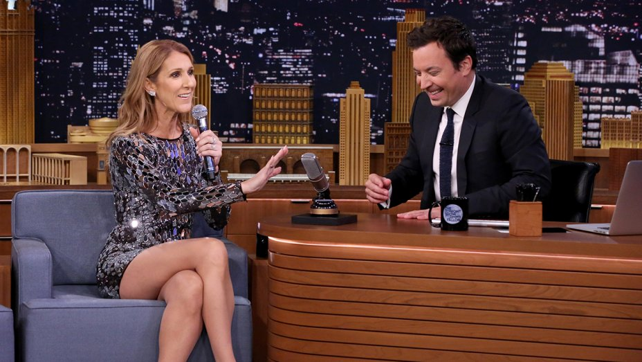 Celine Dion Impersonates Cher, Michael Jackson and Johnny Cash