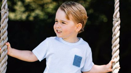 George 'Far Too Spoilt' On His Birthday Says Prince William