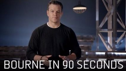 Bourne In 90 Seconds