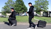 World's First Motorised, Rideable luggage