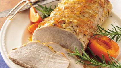 Martha Stewart's Apricot-Glazed Pork Tenderloin Recipe