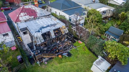 You Will Not Believe How Much This Fire-Gutted Auckland Villa Sold For!