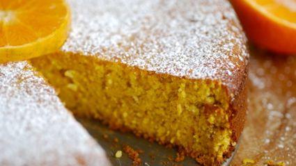 Quick Instant Whole Orange Cake