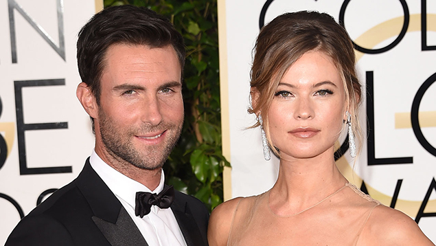 Adam Levine And Behati Prinsloo Share Adorable First Photo Of Their New Baby Dusty Rose