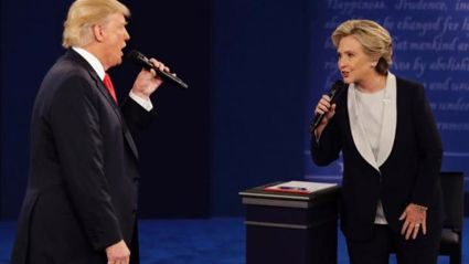 Donald and Hillary sing I've Had The Time Of My Life!