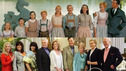 The von Trapp Family Then And 45 Years Later
