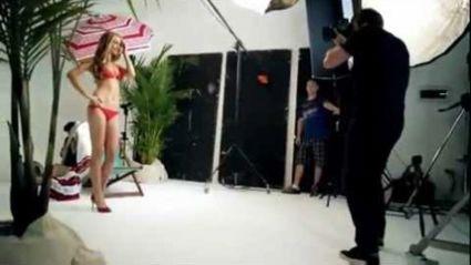Dyson's Bikini Photoshoot