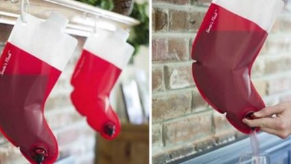 All We Want For Christmas Is This Wine-Dispensing Stocking