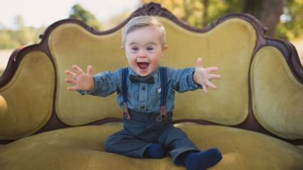 Adorable Boy Scores His First Modelling Contract