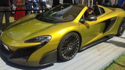 The McLaren Epic New Zealand Tour