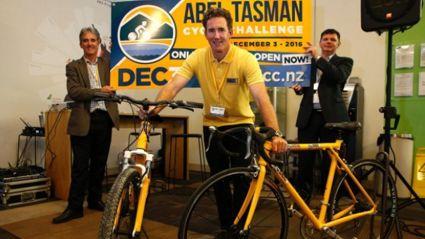 The Inaugural Abel Tasman Cycle Challenge.