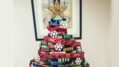 The new Christmas tree trend is to make it out of books - here's how