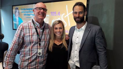 ANZ Dream Delivery with Grant Elliot and Laura McGoldrick