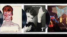 Royal Mail release set of 10 David Bowie stamps