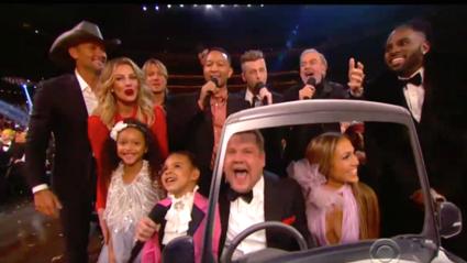James Corden's Grammy Carpool Karaoke with Neil Diamond ... and friends!