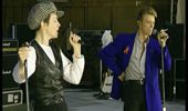 Queen, Annie Lennox and David Bowie: Under Pressure rehearsal