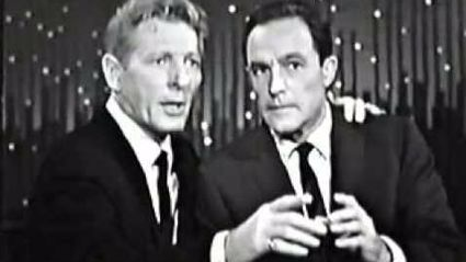 Danny Kaye and Gene Kelly: 1963 Dance Lesson