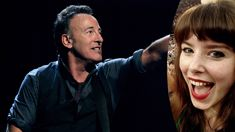 Young fan gets 'perfect' photo with Bruce Springsteen