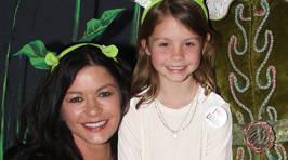 Catherine Zeta-Jones' daughter grown up!