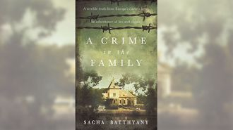 Book of the Week - A Crime in the Family by Sacha Battyany