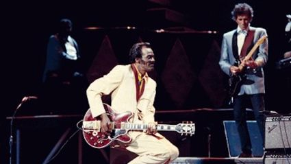 Chuck Berry and Keith Richards: Nadine
