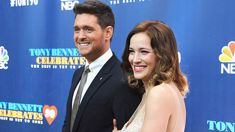 Michael Buble's wife speaks about sons cancer