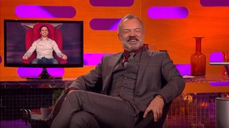 Graham Norton helps man surprise wife with baby gender reveal
