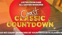 The top 500 songs from the Easter Coast Classic Countdown!