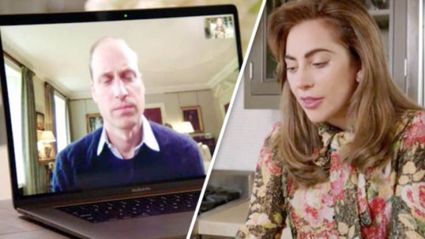 Lady Gaga and Prince William working together on mental health awareness