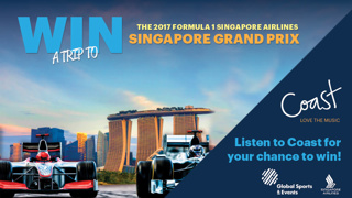 Win A Trip To The 2017 FORMULA 1 SINGAPORE AIRLINES SINGAPORE GRAND PRIX!