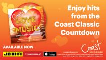 'Coast Love The Music From The Classic Countdown'  is out now!