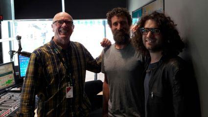 Meat with filmaker David White and The Kiwi Bushman, Josh James.