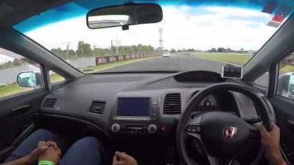Drive your car around Pukekohe Park Raceway.