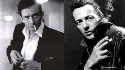 Johnny Cash and Joe Strummer cover Bob Marley's Redemption Song