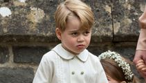 Prince George gets a royal telling off