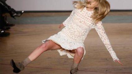 Hilarious catwalk fails