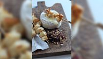 Allyson Gofton - Hot camembert with cranberries and roasted hazelnuts