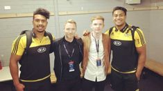 Watch Ronan Keating party with the Hurricanes