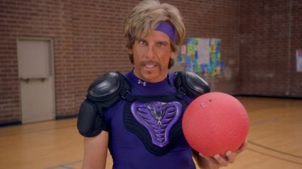 PLAY DODGEBALL AND HANG OUT WITH BEN STILLER!