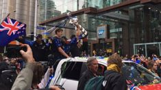 See the photos from Team New Zealand's victory parade