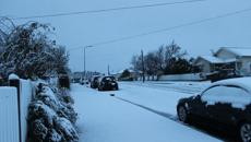 Amazing photos of New Zealand's snow storm