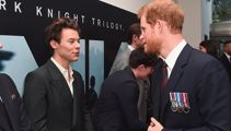Harry meets Harry as the cast of 'Dunkirk' visit Kensington Palace